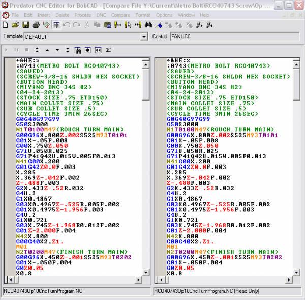 g code list